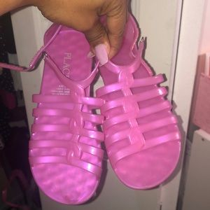 Children's place jelly sandals